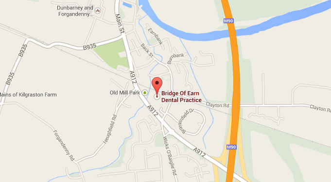 Bridge Of Earn Dental Practice Map & Directions